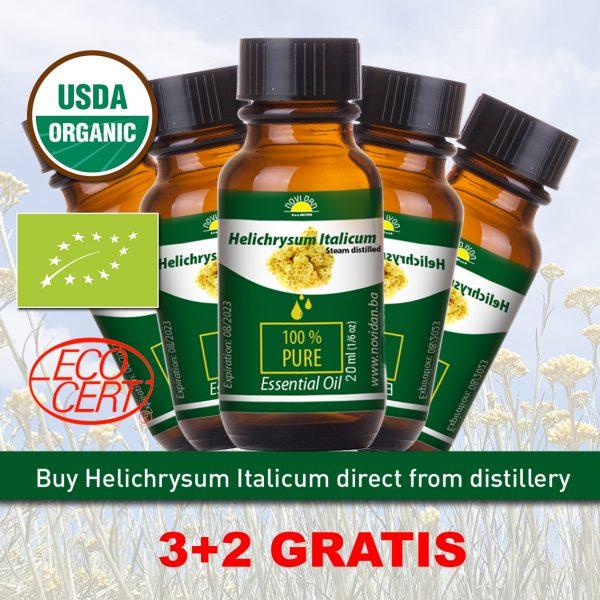 Buy Organic Helichrysum from distillery